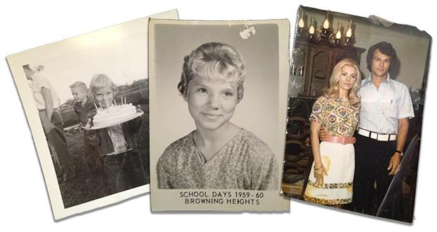 Photos of my mother, Donna Nobles.