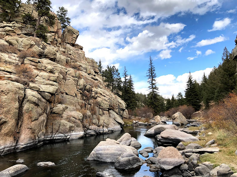 11 Mile Canyon in Lake George, Colorado.