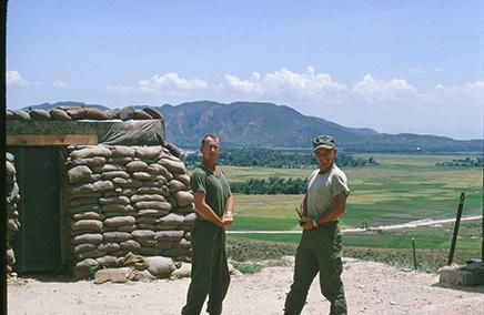 SSgt John Cox and Capt. Billy M. Summerlin