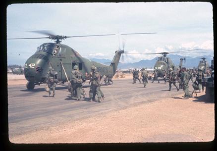 CH-34s at Phu Bai