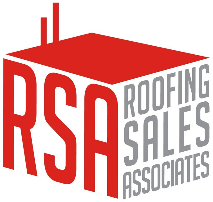 Roofing Sales Associates logo.