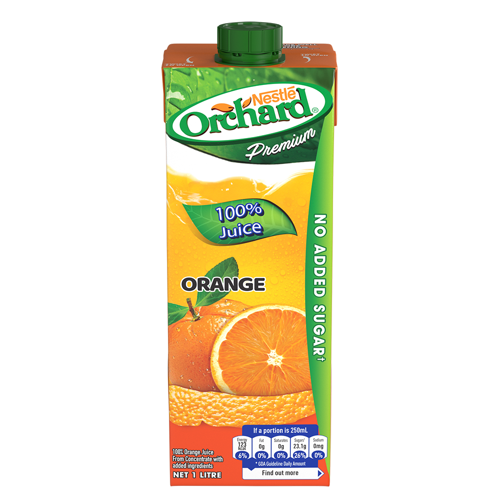 ORCHARD 100% Orange Juice 1L Carton