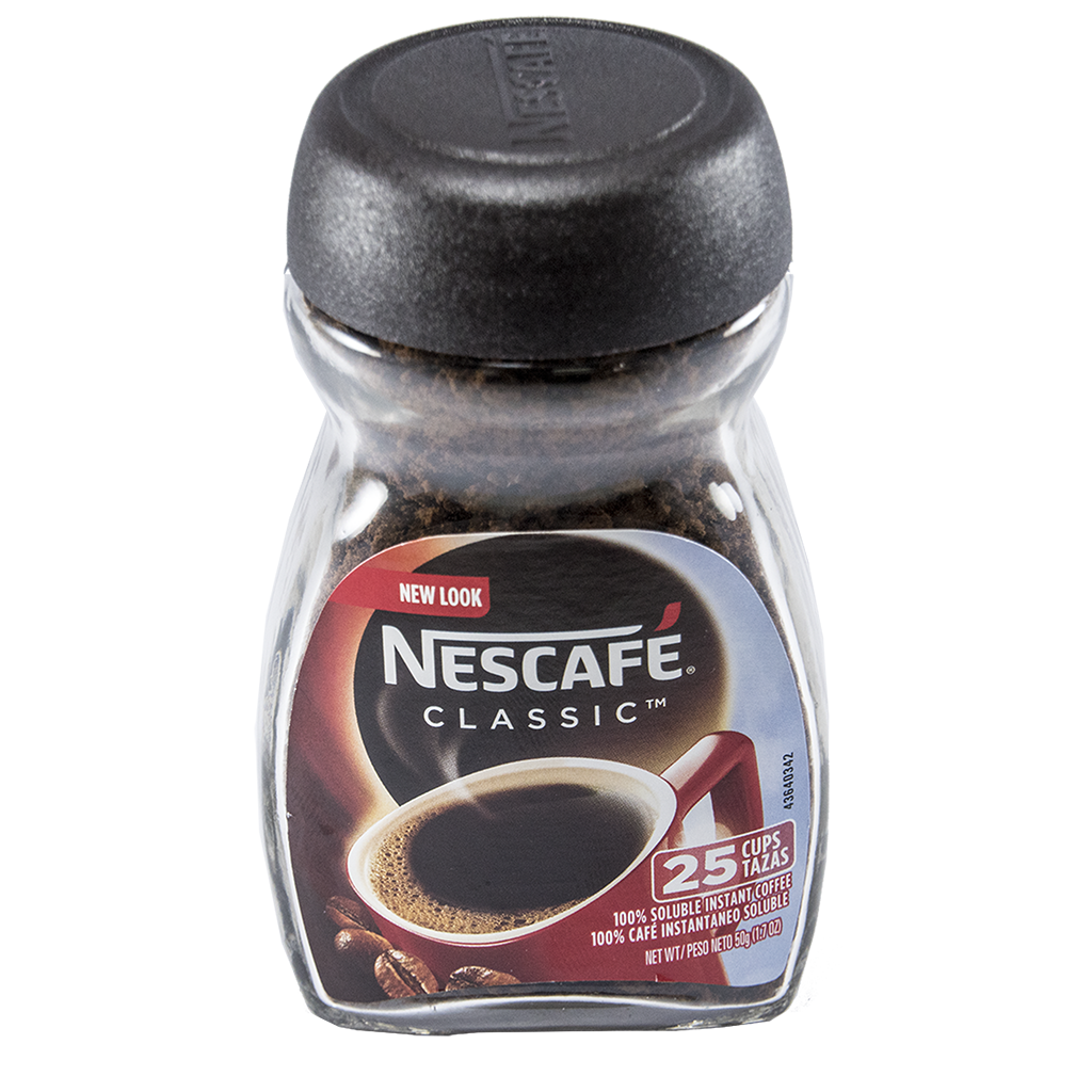 NESCAFÉ Classic Instant Coffee 50g Glass Jar
