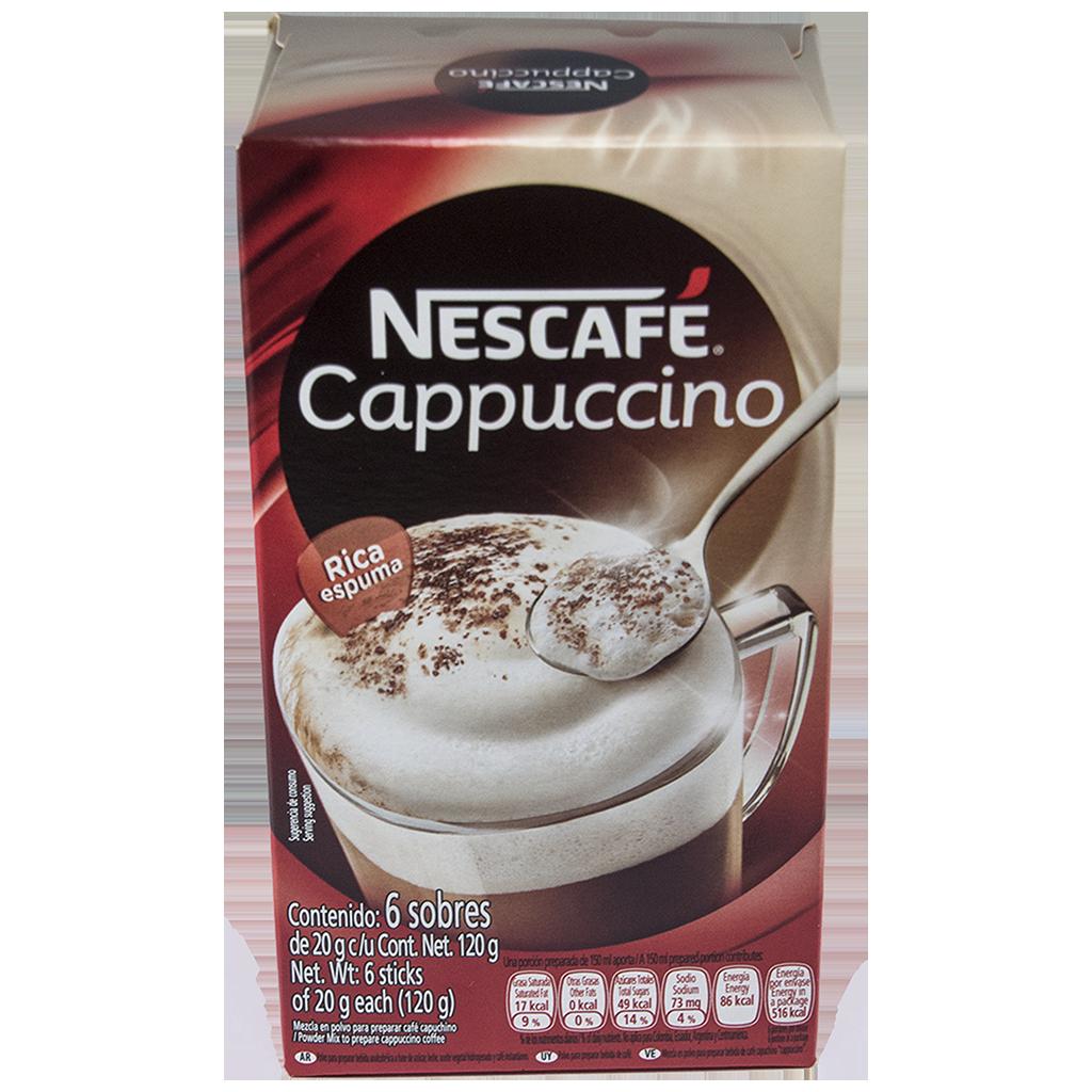 NESCAFÉ Cappuccino Instant Coffee 20g Sticks (Display Box of 6)