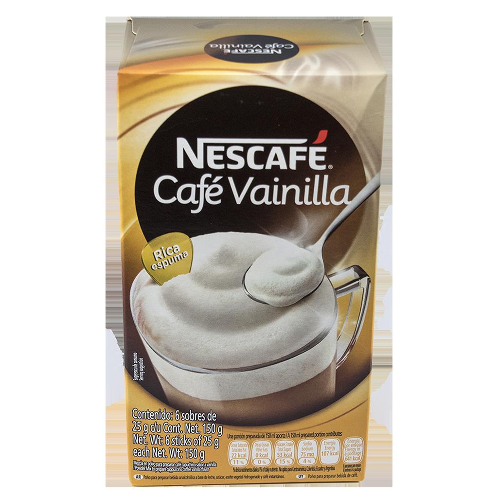 NESCAFÉ Café Vainilla Instant Coffee 25g Sticks (Display Box of 6)