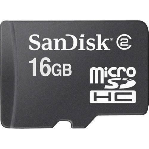 Sandisk 16GB MicroSDHC Memory Card