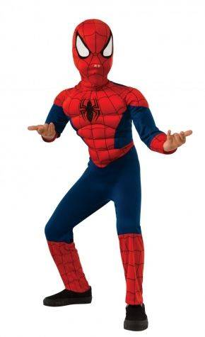 Deluxe Muscle Chest Spiderman Costume