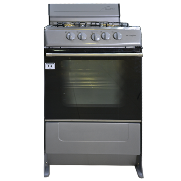 BlackPoint 20-Inch Silver Stove