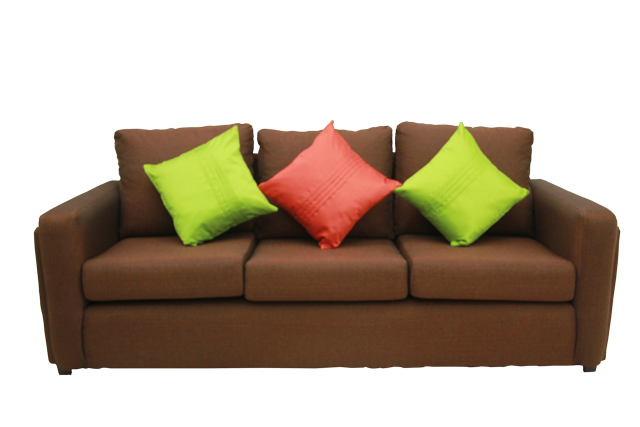 Front-view-of-Boca-3-Seat-Brown-Sofa