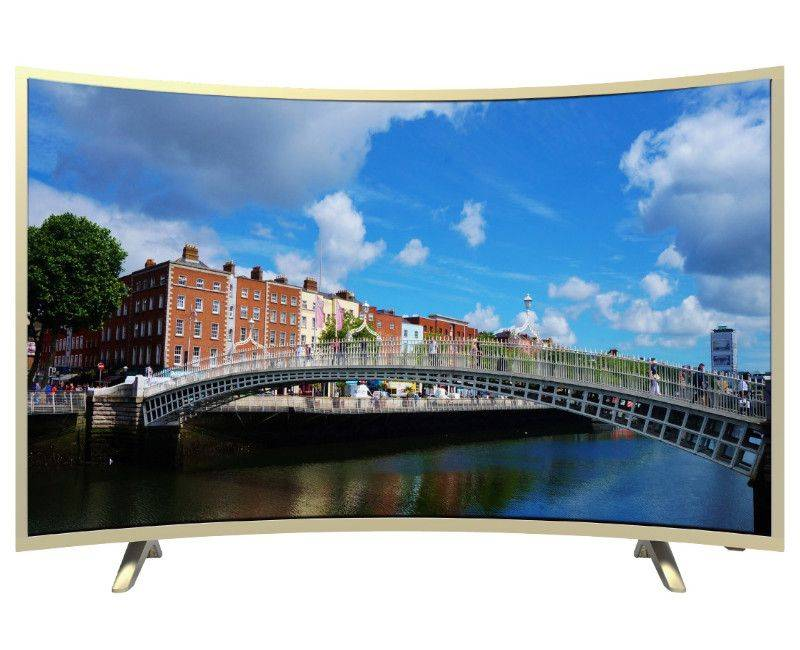 """Blackpoint 50"""" Quad Core Curve Smart TV"""