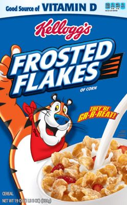 Kelloggs Frosted Flakes Cereal 490 Grams
