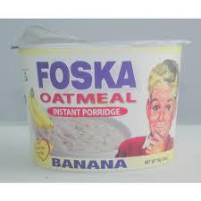 Foska Oats Banana Cereal 74 Grams