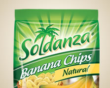 Holiday Soldanza Banana Chips 36 Grams