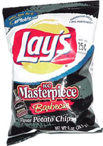 Lays KC Masterpiece Barbecue Chips  10 Ounces