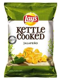 Lays Kettle Jalapeno Chips 2.125