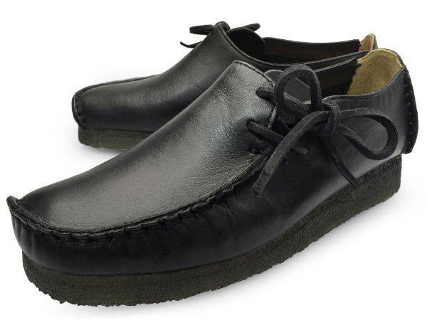 Clarks Lugger Black Slip on Loafers for Men-8.5