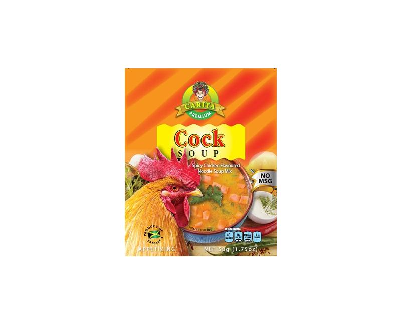 Carita Cock Soup (MSG FREE)