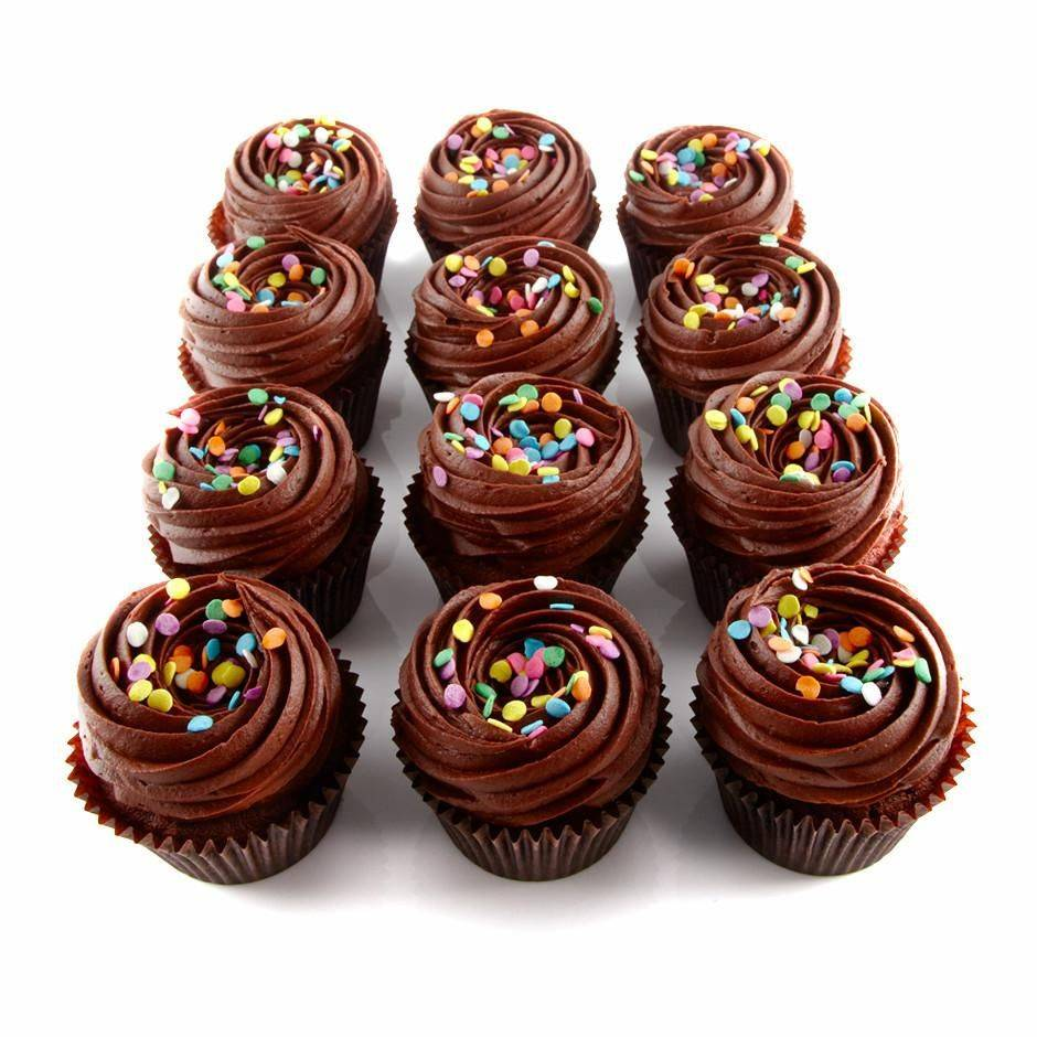 Chocolate Cupcakes 12 Count