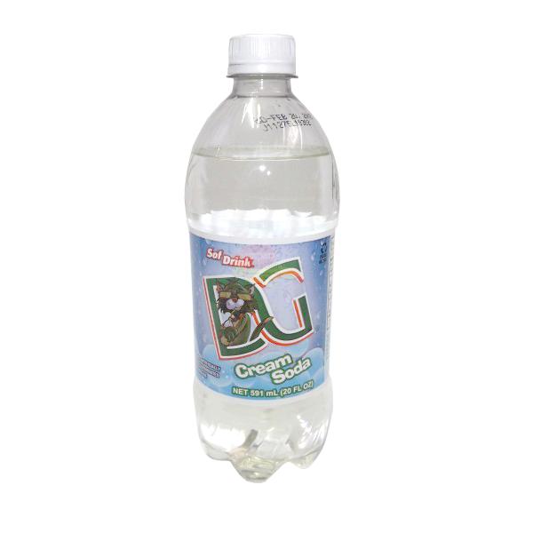 D&G Sof Drink Cream Soda 591ml