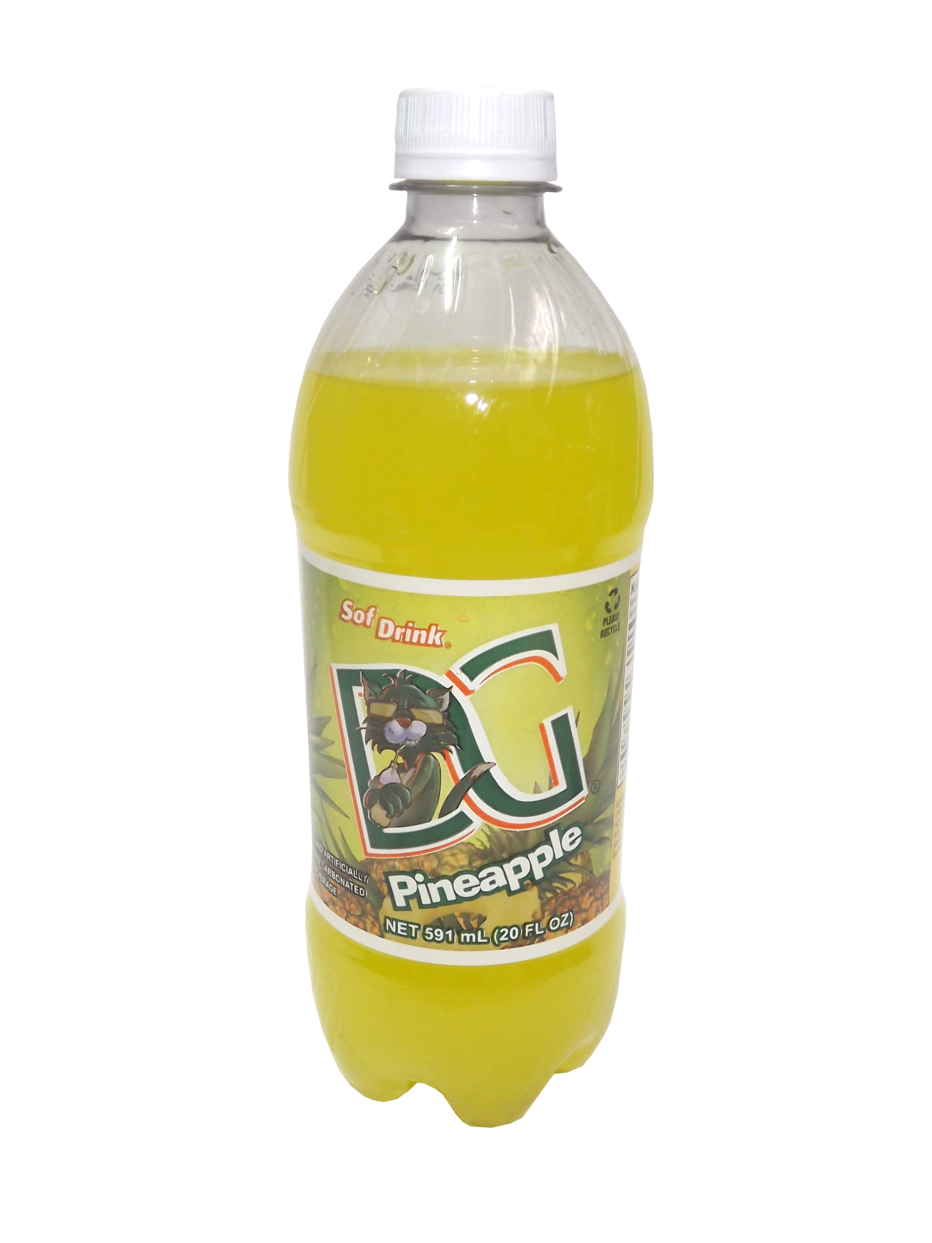 D&G Sof Drink Pineapple 591ml