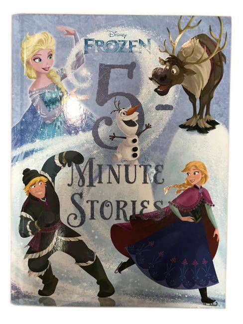 Disney's Frozen 5 Minute Stories For Ages 3 And Up