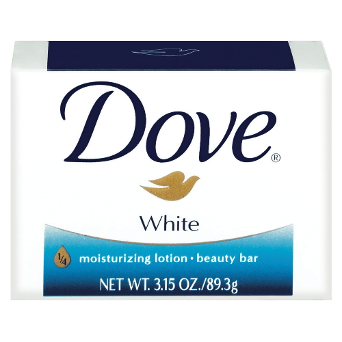 Front-view-of-Dove-Beauty-White-Bath-Soap