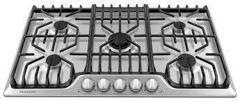 """Frigidaire Professional 36"""" Gas Cooktop - Stainless Steel"""
