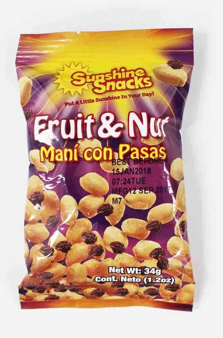 Sunshine 32g Fruit & Nut 24 Pack