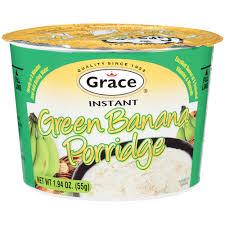 Grace Instant Green Banana Porridge  Cereal 60 Grams