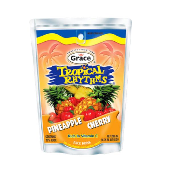 Grace Tropical Rhythm Pouch Pineapple Cherry 200ml