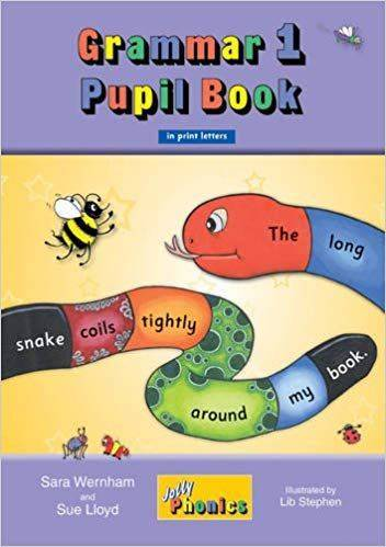 Jolly Grammar Pupil Bk 1 in print Letters