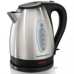 Hamilton Beach Stainless Steel Electric Kettle 1.7L