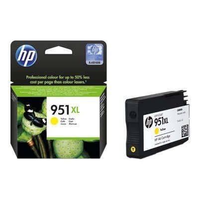 HP 951XL High Yield Yellow Original Ink Cartridge (CN048AL)