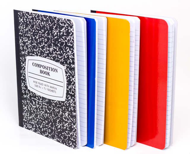 Hard Cover Notebooks (6)