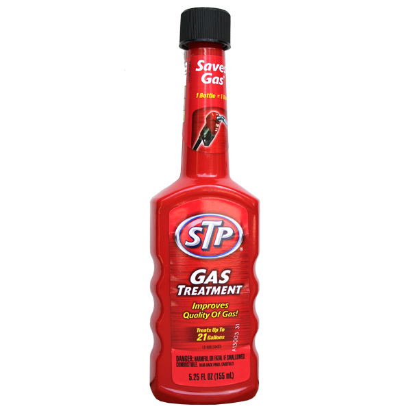 STP Gas Treatment 5.25 Fl Oz (155ml)