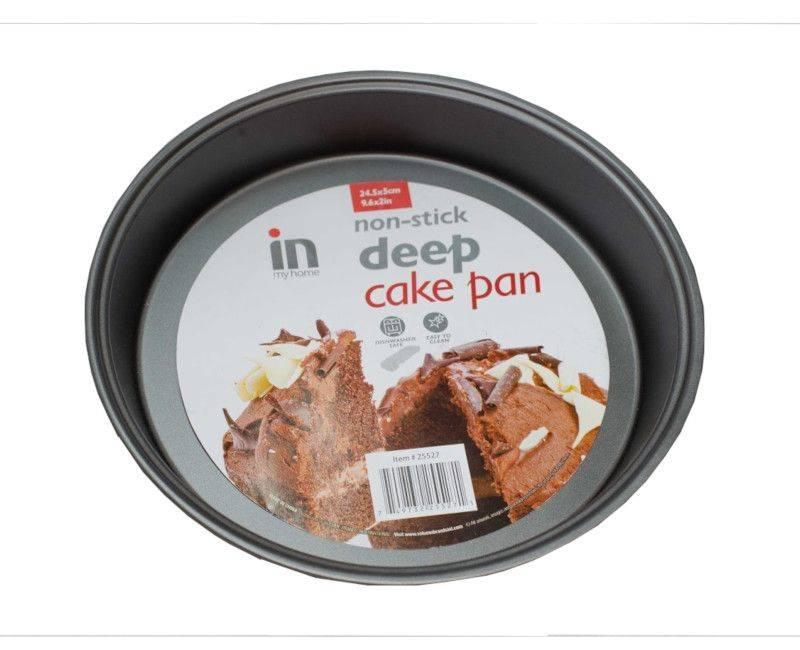 "In My Home Non-Stick Deep Cake Pan 24.5 x 5 cm (9.6 x 2"")"
