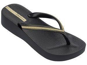 Ipanema Mesh III Platform Black Sandals for Women