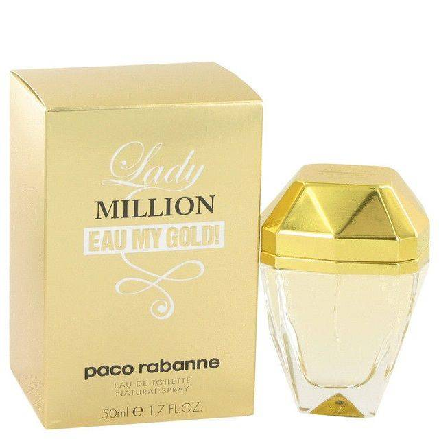 Lady Million Eau My Gold 1.7 Fl. OZ. Women's Perfume