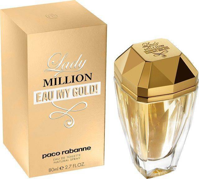 Lady Million Eau My Gold 2.7 FL OZ Women's Perfume