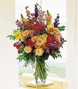 Large Mixed Vase Floral Arrangement