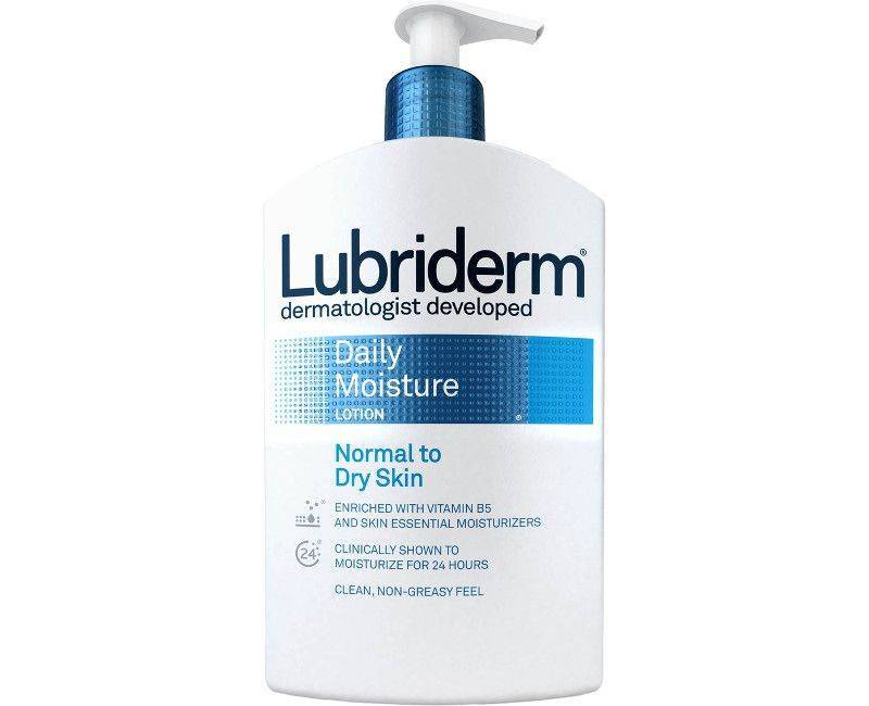 Lubriderm Non-Greasy Feel Daily Moisture Lotion For Normal To Dry Skin 16 Fl. Oz.