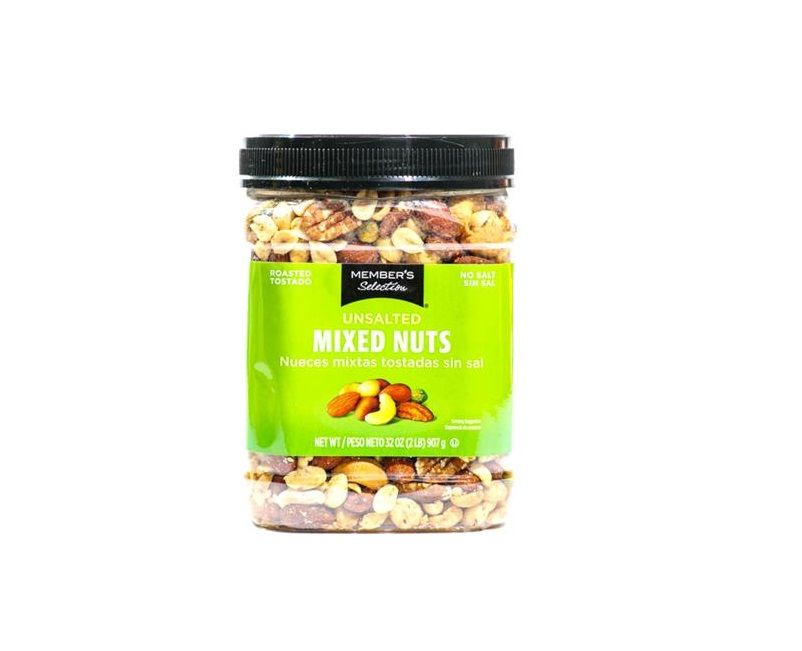 Member's Selection Unsalted Mixed Nuts 32oz
