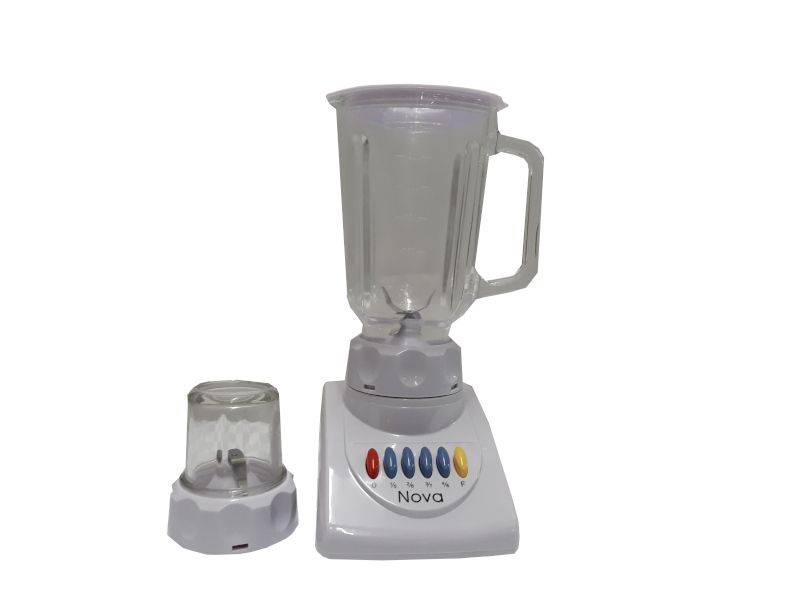 Nova Home Appliance 2 in 1 Food Blender & Grinder- White