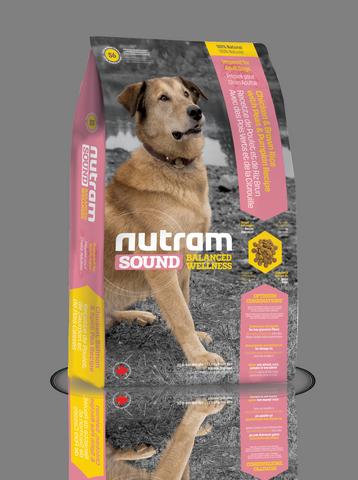 S6 Nutram 2.72kg Sound Balanced Wellness Adult Natural Dog Food