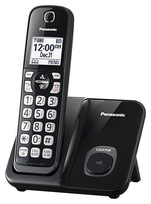 Panasonic KX-TGD510B Expandable Cordless Phone - 1 Handset