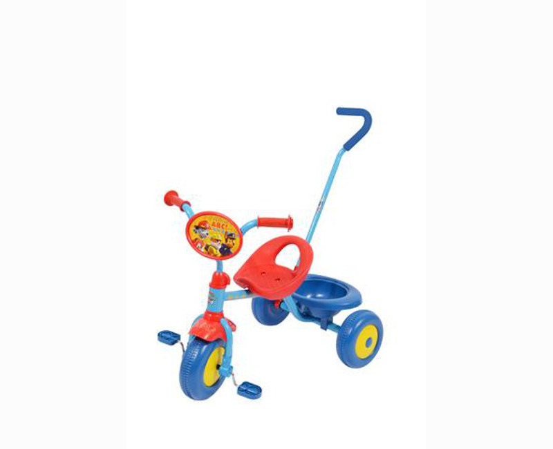 Paw Patrol Blue And Red Tricycle With Guide