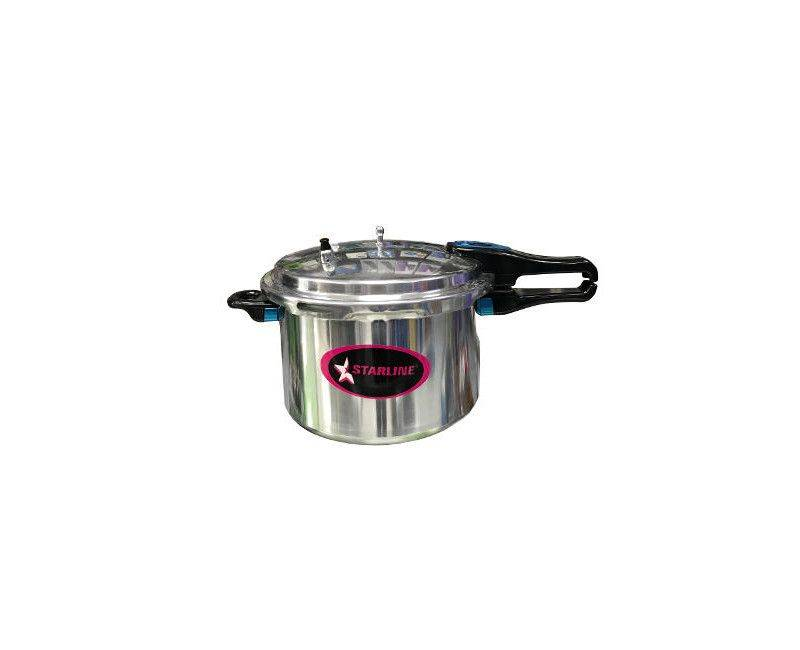 Starline PC 9501 Aluminum Body 26CM Pressure Cooker With 9.5 Liter Capacity