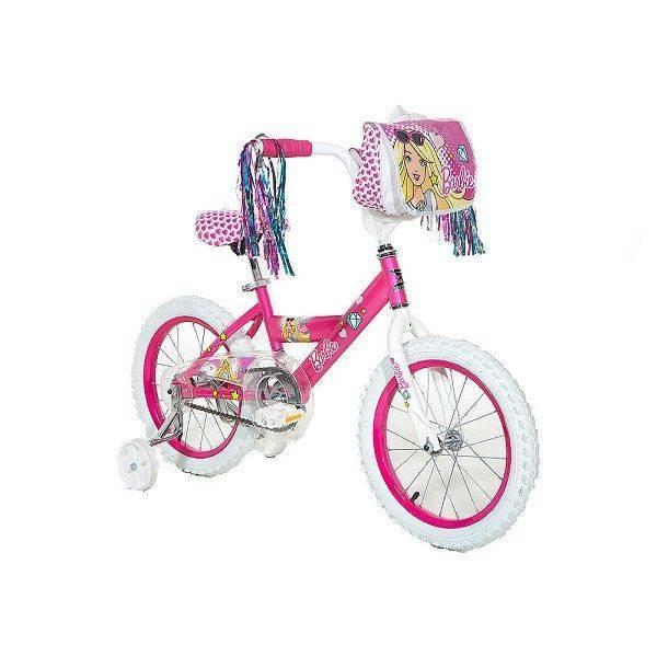 Girls 16 inch Dynacraft Barbie Bike