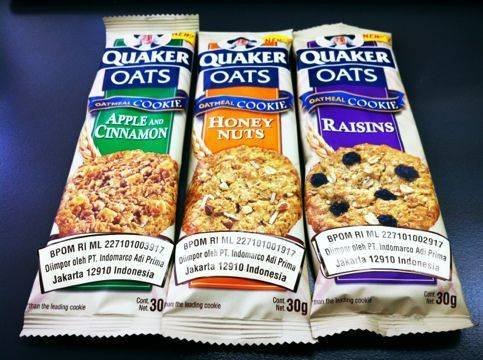 Quaker Oatmeal Cookies Variety Pack