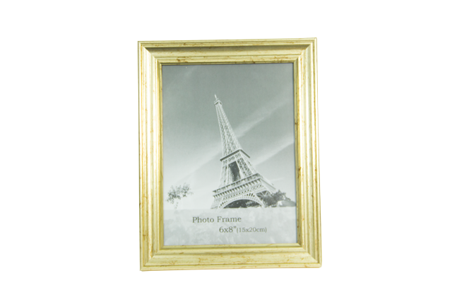 Front-view-of-Rainbow-6x8-Gold-Photo-Frame